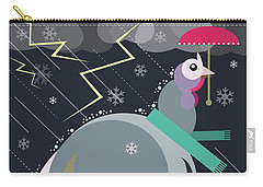 Winter Greetings Carry-all Pouch
