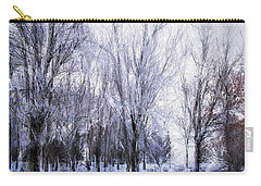 Winter Lace Carry-all Pouch