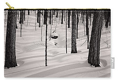 Winter Light In The Forest Carry-all Pouch