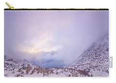 Winter Morning Light Tuckerman Ravine Carry-all Pouch