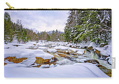 Winter On The Swift River. Carry-all Pouch