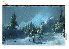Winterspring Carry-all Pouch