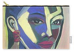 Woman Of Color Carry-all Pouch
