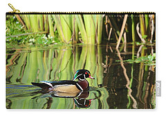 Wood Duck Reflection 1 Carry-all Pouch