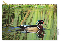Wood Duck Reflection 2 Carry-all Pouch