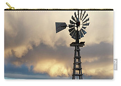 Wooden Windmill 01 Carry-all Pouch