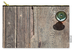 Worn Brass Door Handle Of Tuscany Carry-all Pouch