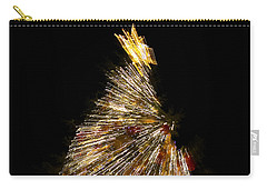Xmas Tree Motion Art Carry-all Pouch