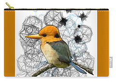 Y Is For Yellow Billed Kingfisher Carry-all Pouch