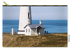 Carry-all Pouch featuring the photograph Yaquina Head Lighthouse 102518 by Rospotte Photography