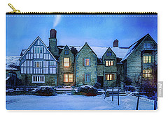 Carry-all Pouch featuring the photograph Ye Olde Manor by Edmund Nagele