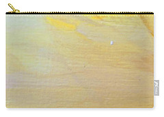 Carry-all Pouch featuring the painting Yellow #2 by Maria Langgle