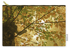 Yellow Fall Leaves - Blue Ridge Parkway Carry-all Pouch
