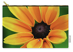 Yellow Flower Black Eyed Susan Carry-all Pouch