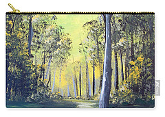 Yellow Forrest Carry-all Pouch