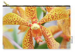 Yellow Spotted Spider Orchids Carry-all Pouch