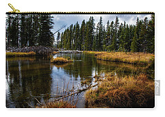 Carry-all Pouch featuring the photograph Yellowstone National Park by Scott Read