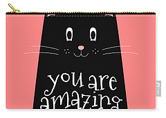You Are Amazing - Baby Room Nursery Art Poster Print Carry-all Pouch
