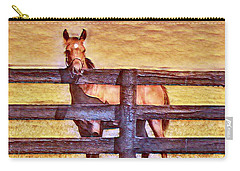 Young Kentucky Thoroughbred Carry-all Pouch