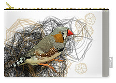 Z Is For Zebra Finch Carry-all Pouch