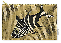 Zebra Fish 1 Carry-all Pouch