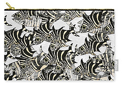 Zebra Fish 10 Carry-all Pouch