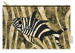 Zebra Fish 2 Carry-all Pouch