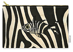 Zebra Fish 3 Carry-all Pouch