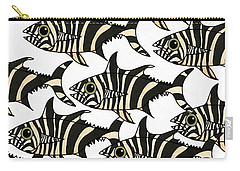 Zebra Fish 4 Carry-all Pouch