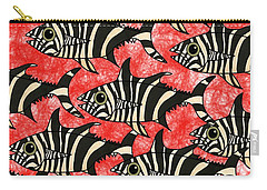 Zebra Fish 5 Carry-all Pouch