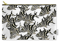 Zebra Fish 9 Carry-all Pouch