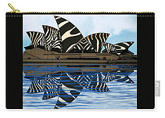 Zebra Opera House 4 Carry-all Pouch