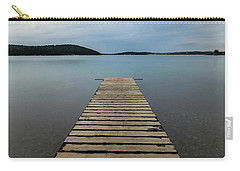 Carry-all Pouch featuring the photograph Zen II by Davor Zerjav