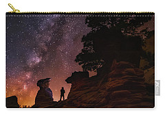 Carry-all Pouch featuring the photograph Zion by Tassanee Angiolillo