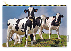 Cow Carry-All Pouches