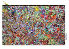 Abstract Expressionism Carry-All Pouches