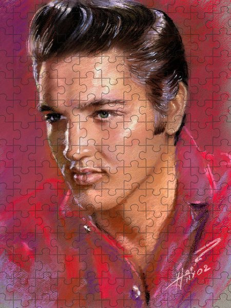 Elvis Rock Jigsaw Puzzles