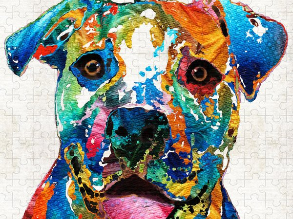 Custom Pet Portrait Jigsaw Puzzles