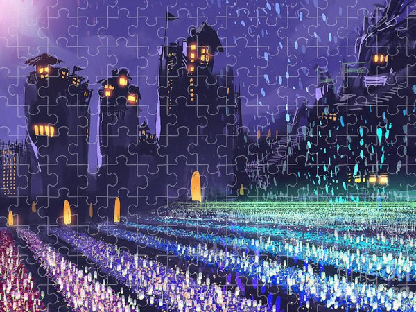Science Fiction Jigsaw Puzzles