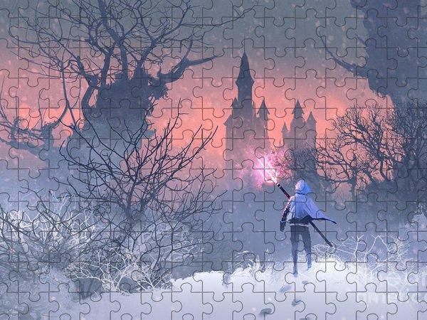 Winter Scene Jigsaw Puzzles