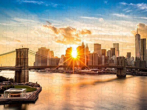Brooklyn Bridge Jigsaw Puzzles