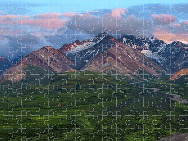 Polychrome Jigsaw Puzzles