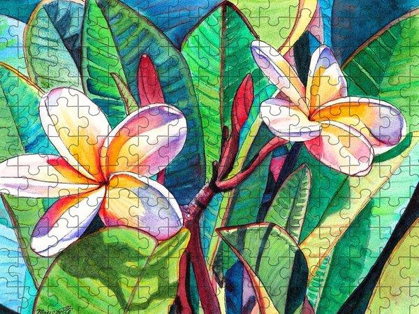 Plumeria Jigsaw Puzzles