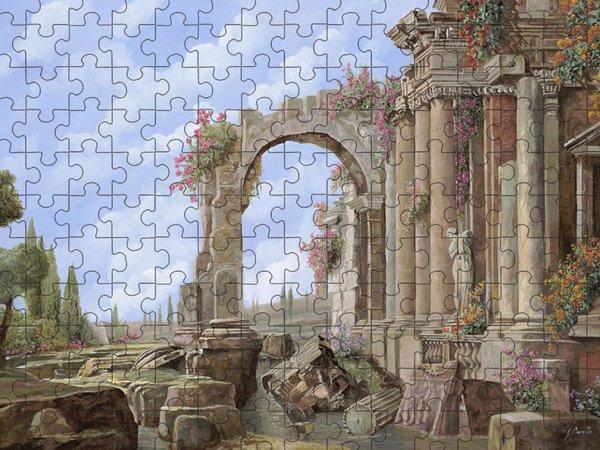 Roman Arch Jigsaw Puzzles