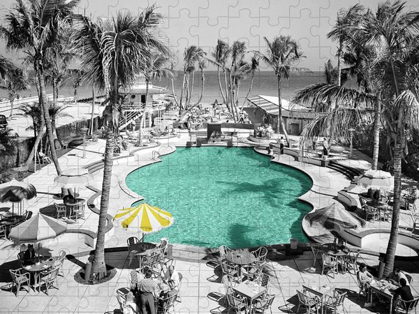 Swimming Pool Puzzles