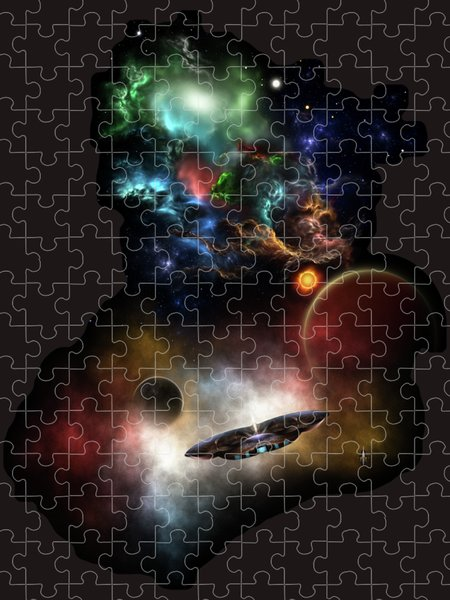 Xzendor7 Custom Art Jigsaw Puzzles - Beyond Space and Time