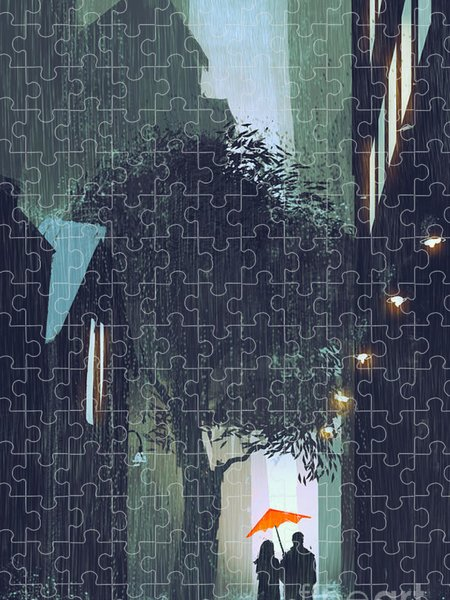 Walking Jigsaw Puzzles