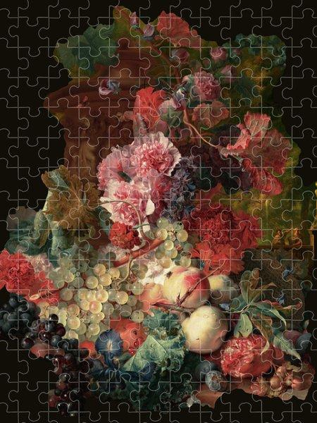 Xzendor7 Custom Art Jigsaw Puzzles - Fruit Piece by Jan van Huysum