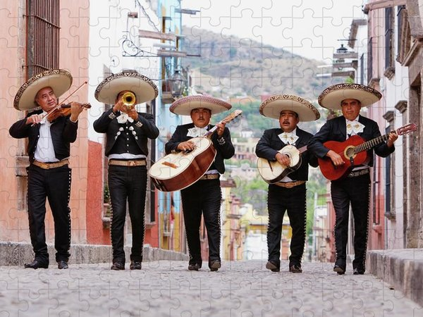 Mariachi Band Puzzles