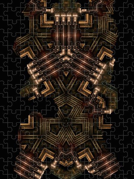 Xzendor7 Custom Art Jigsaw Puzzles - Mech Tech WPO Fractal Art Kali